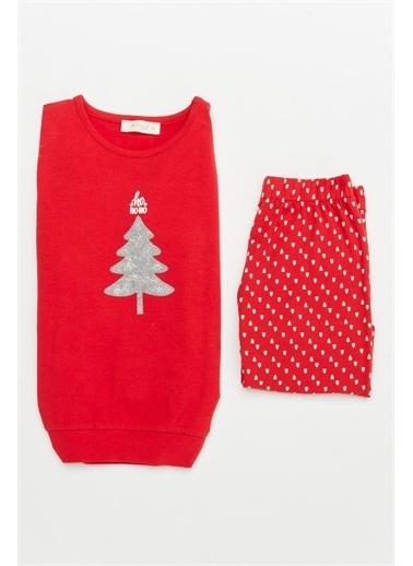 Hays Pijama Takım Kırmızı